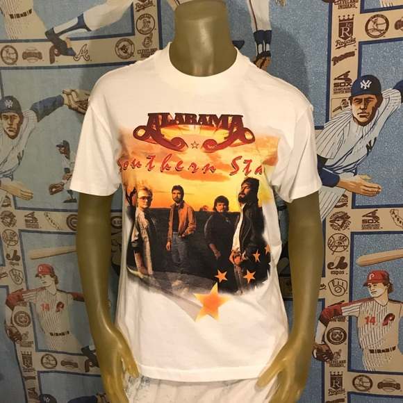 Vintage Country Music Legends Alabama Band Tee